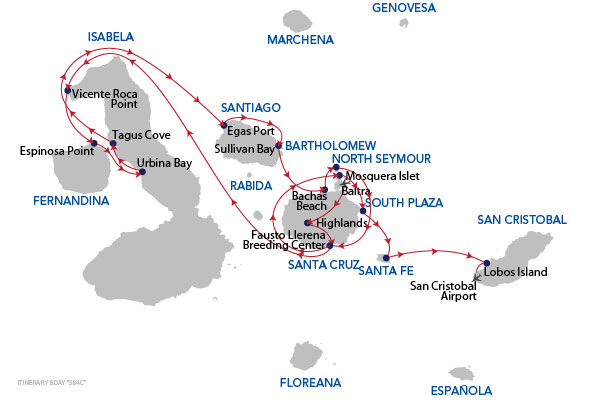 D+A - 8 Days Cruise