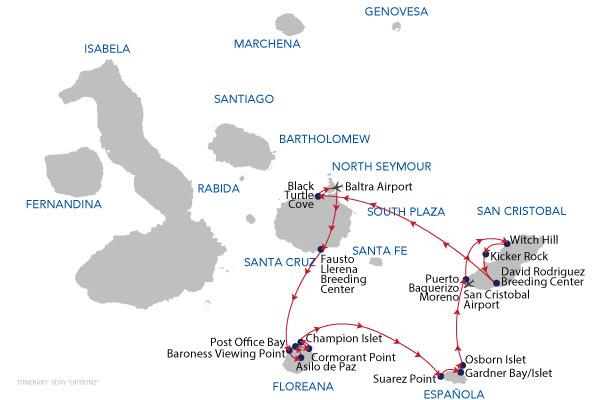 OPTION 02 - 8 Days Cruise