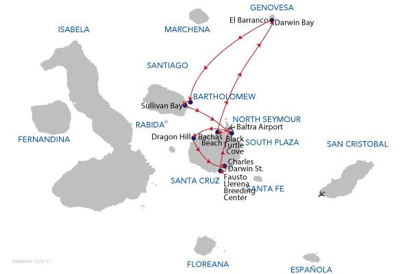 C - 5 Days Cruise
