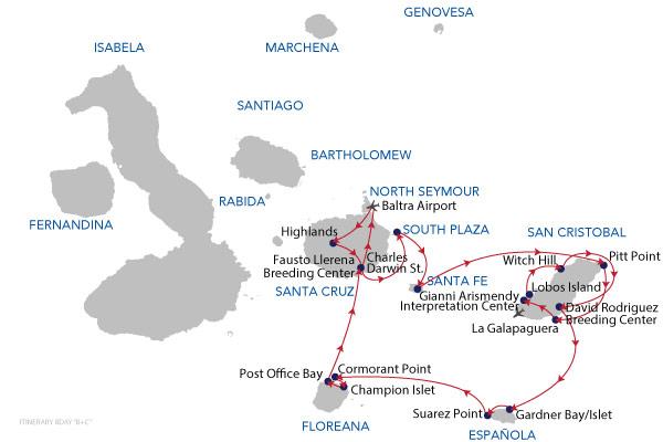 B+C - 8 Days Cruise