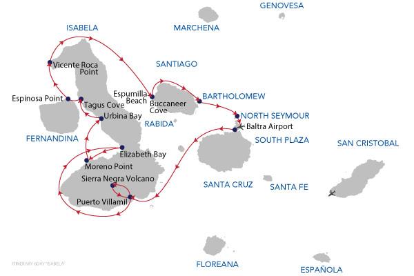 ISABELA - 6 Days Cruise