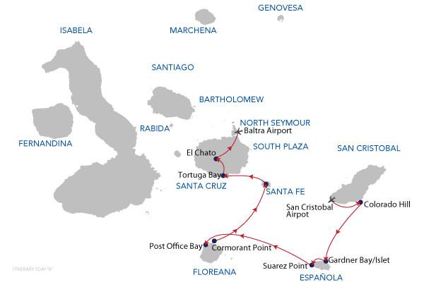 B - 5 Days Cruise