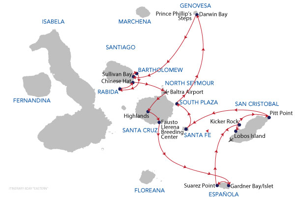 WESTERN - 8 Days Cruise