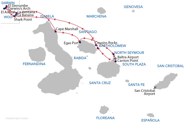 DIVING - 8 Days Cruise