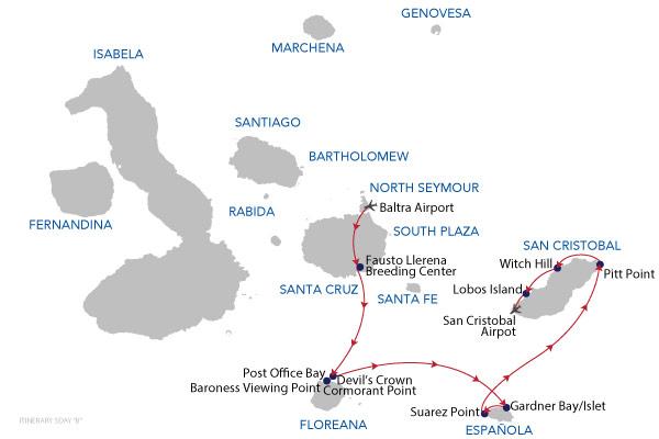 B5 - 5 Days Cruise